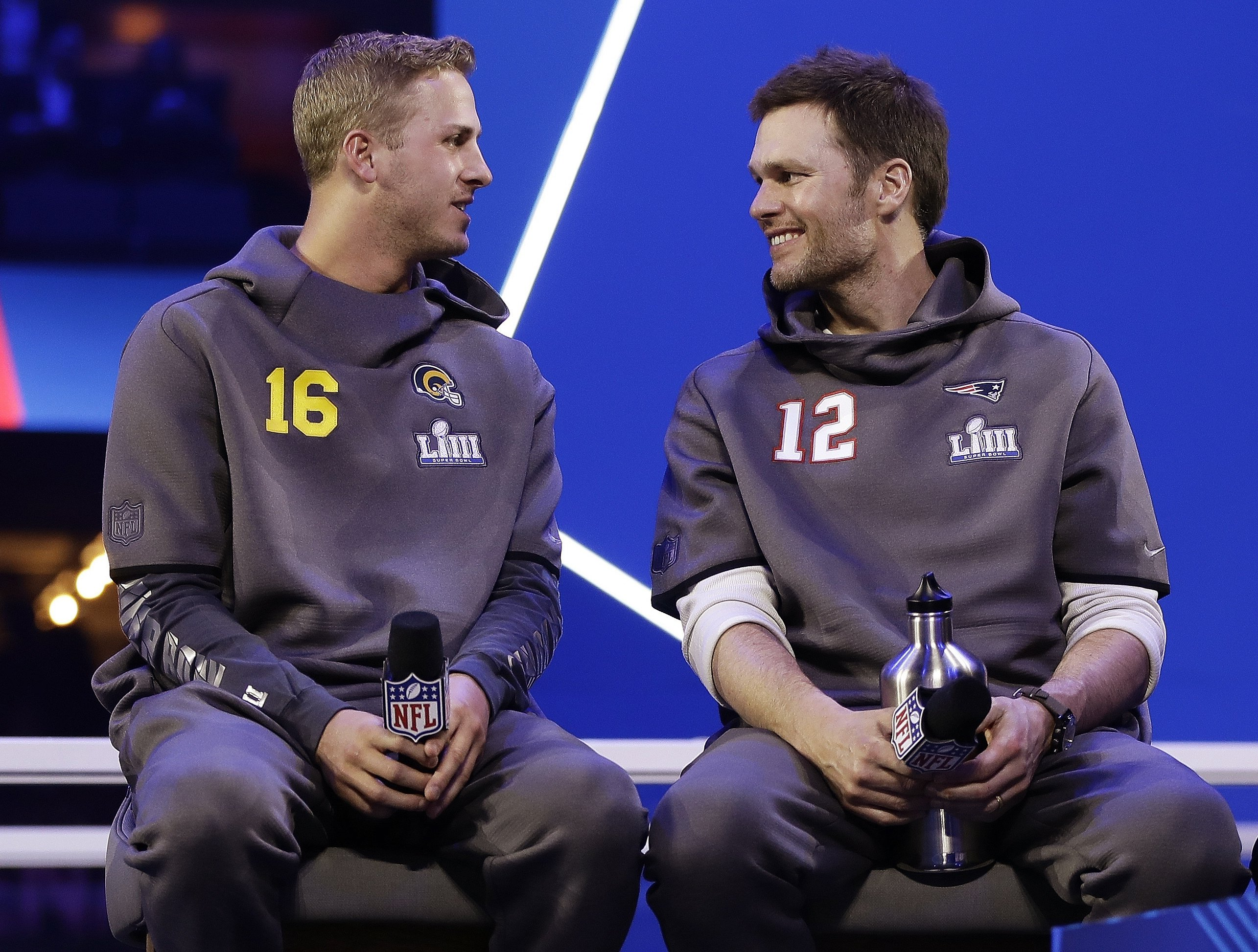 Brady, Goff have massive age gap, but same Super Bowl dream - Associated Press thumbnail