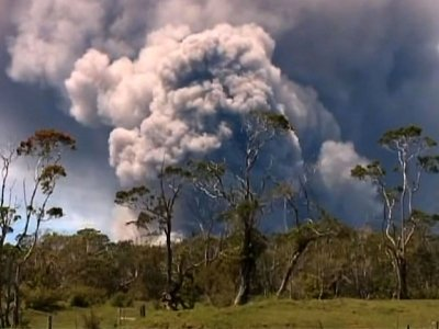 Planes Warned About Hawaiian Volcanic Ash