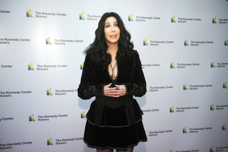 The Latest: Kennedy Center honors for Cher