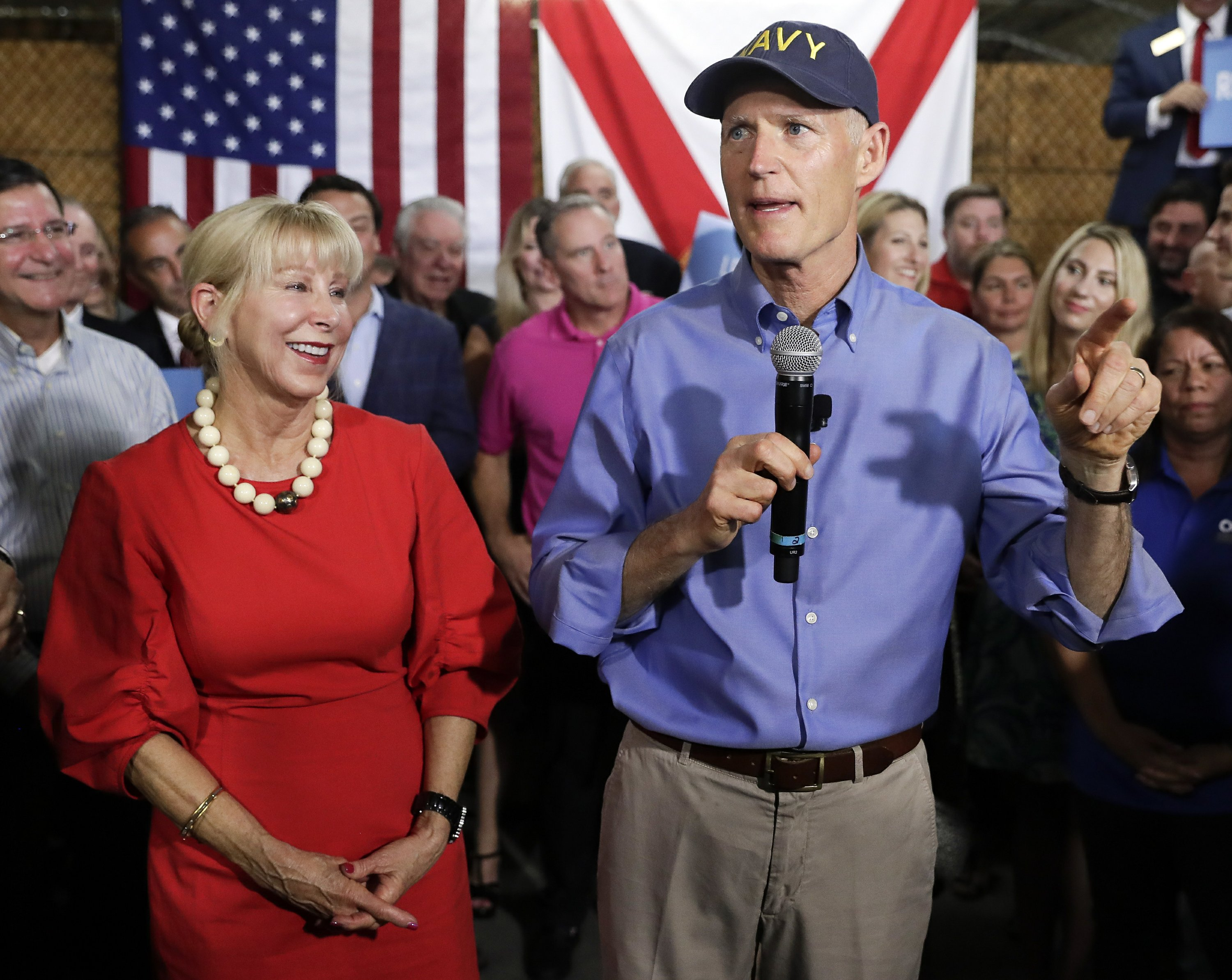 Questions of conflict mount over Florida governor's finances
