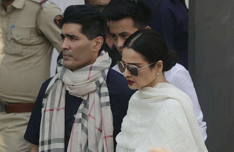 Rekha, Manish Malhotra