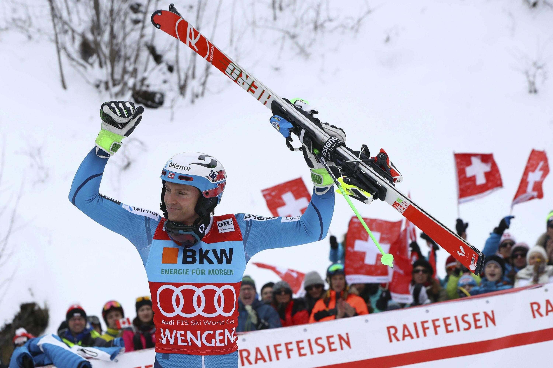 Kristoffersen again edges Hirscher in World Cup slalom duel