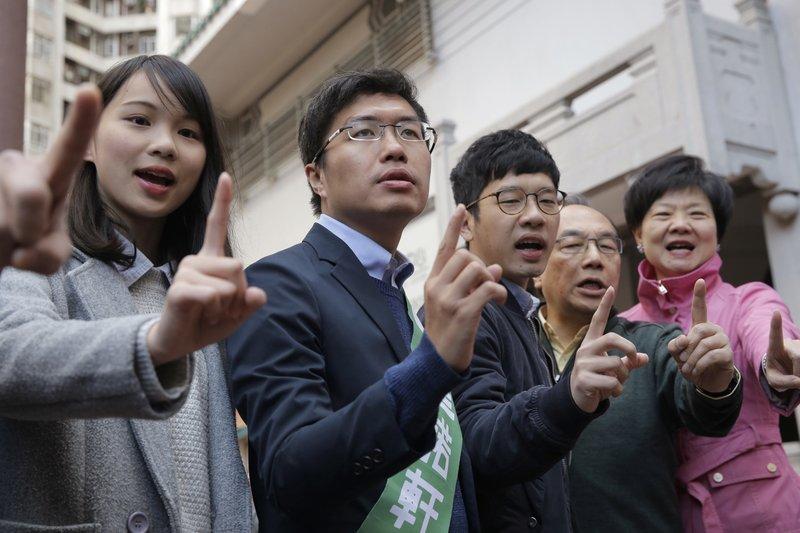 Au Nok-hin, Agnes Chow Ting, Nathan Law