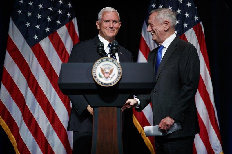Mike Pence, Jim Mattis