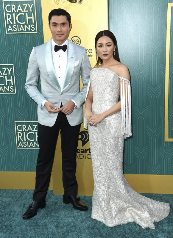 Henry Golding, Constance Wu