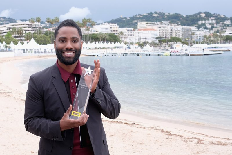 John David Washington Receives an IMDb STARmeter Award at the Cannes Film Festival