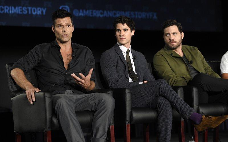 Ricky Martin, Darren Criss, Edgar Martinez