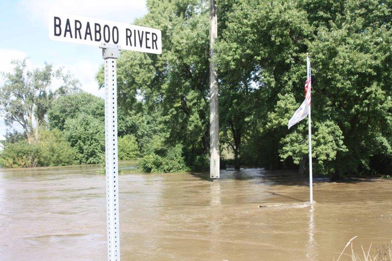 Baraboo River levels (copy)