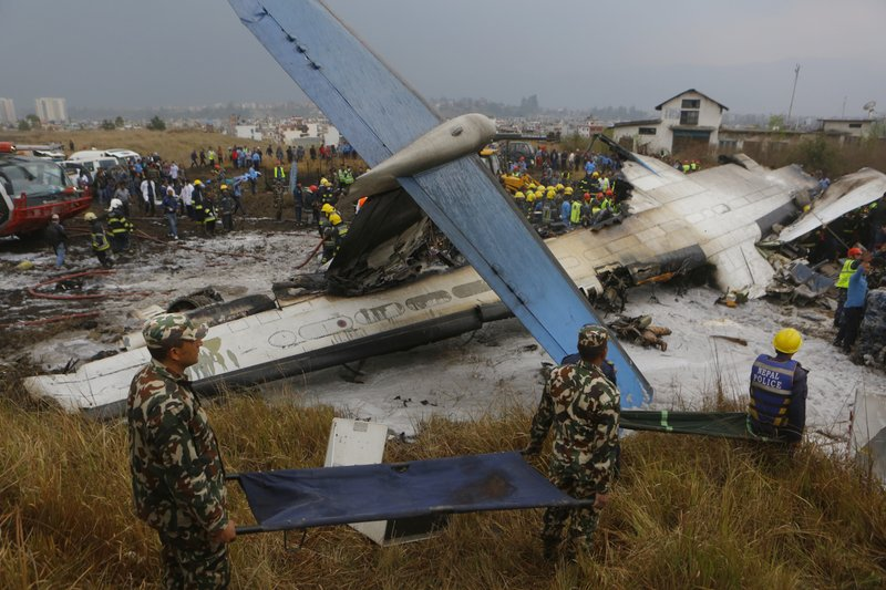 Nepal crash seemingly followed confusion over plane's path