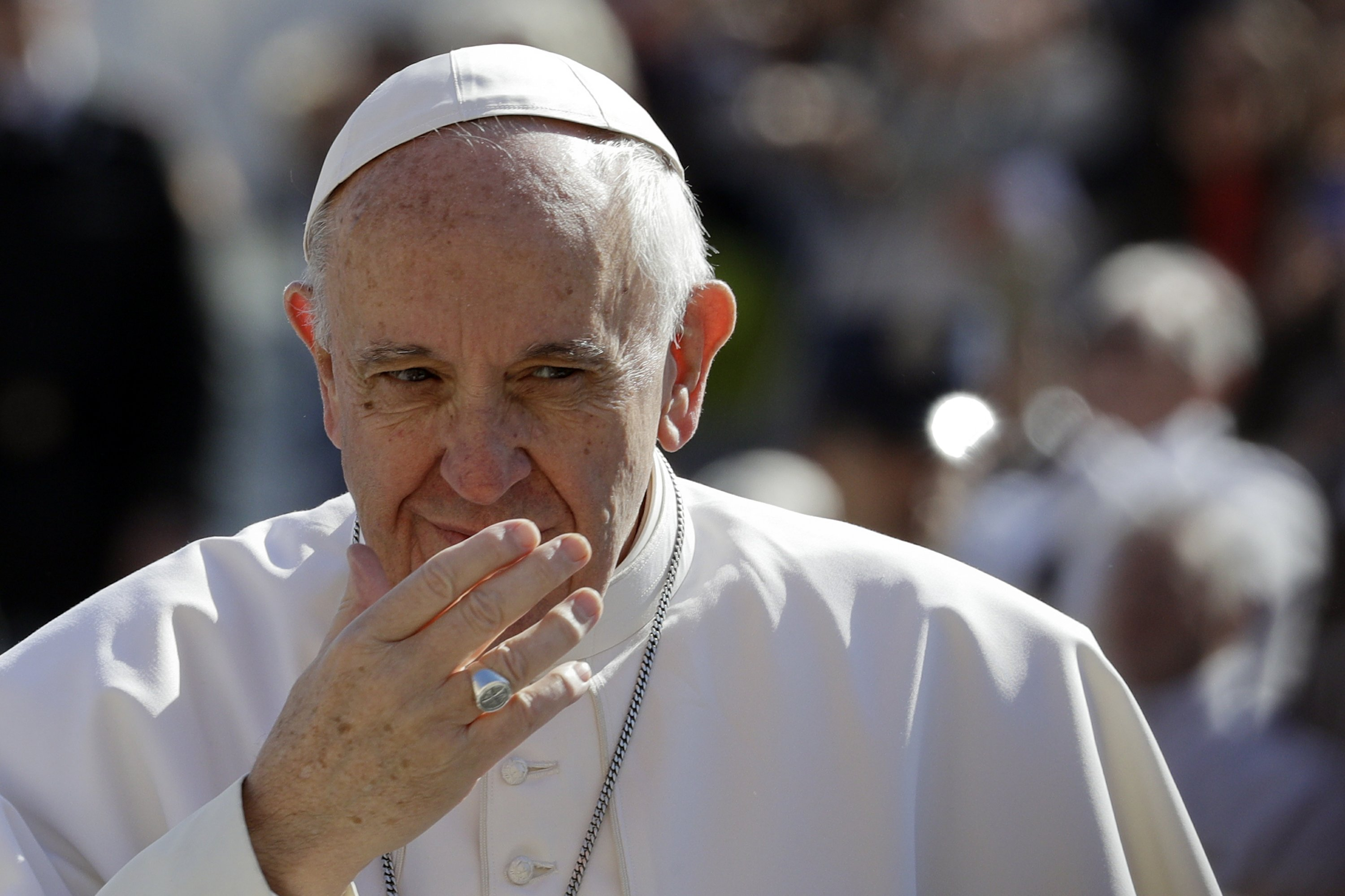 Pope warns of 'very grave sin' when jobs are cut unjustly