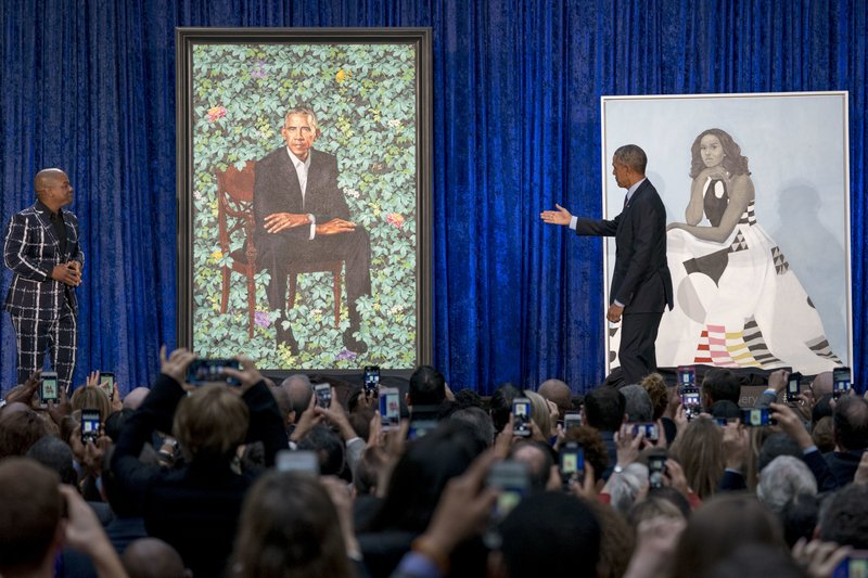 Barack Obama, Kehinde Wiley