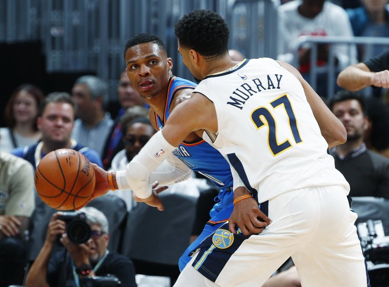 Russell Westbrook, Jamal Murray