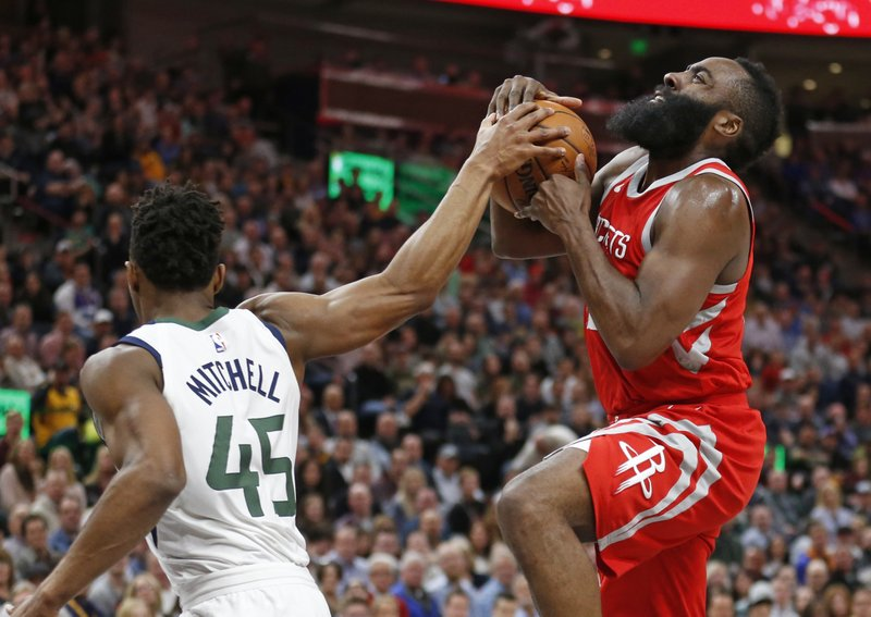 Donovan Mitchell, James Harden