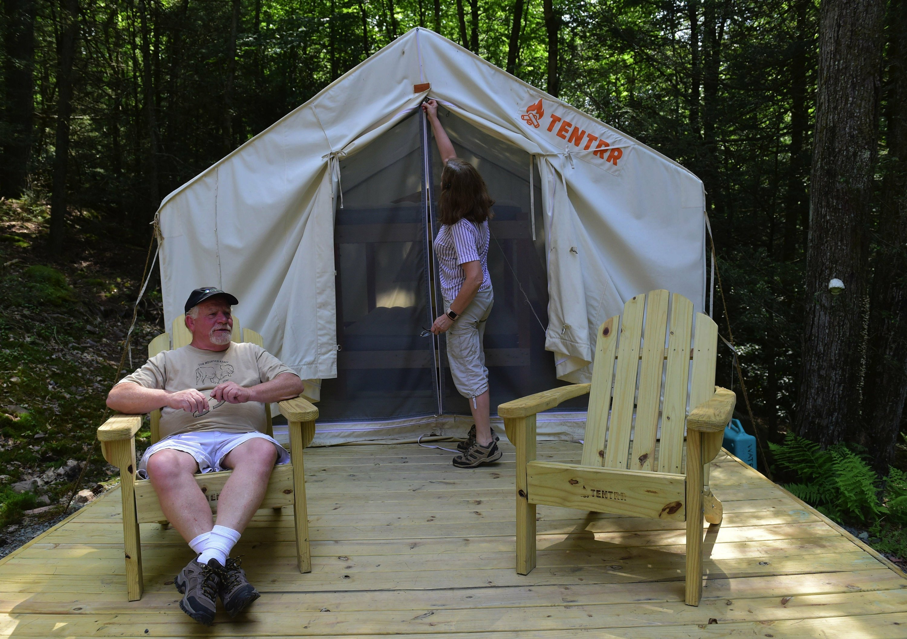 Tentrr, the Airbnb of camping, comes to Pennsylvania