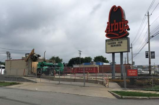 No. 1 change at Natrona Heights Arby's: Bathrooms moving indoors