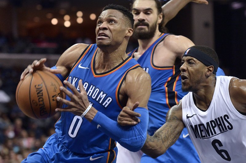 Russell Westbrook, Mario Chalmers