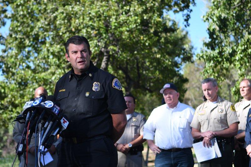 Bluecut fire press conference