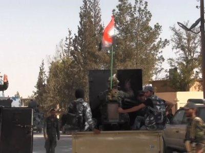 Raw: Dozens Found Dead in Syrian Town