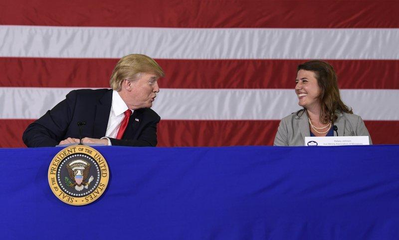 Donald Trump, Kelsey Johnson