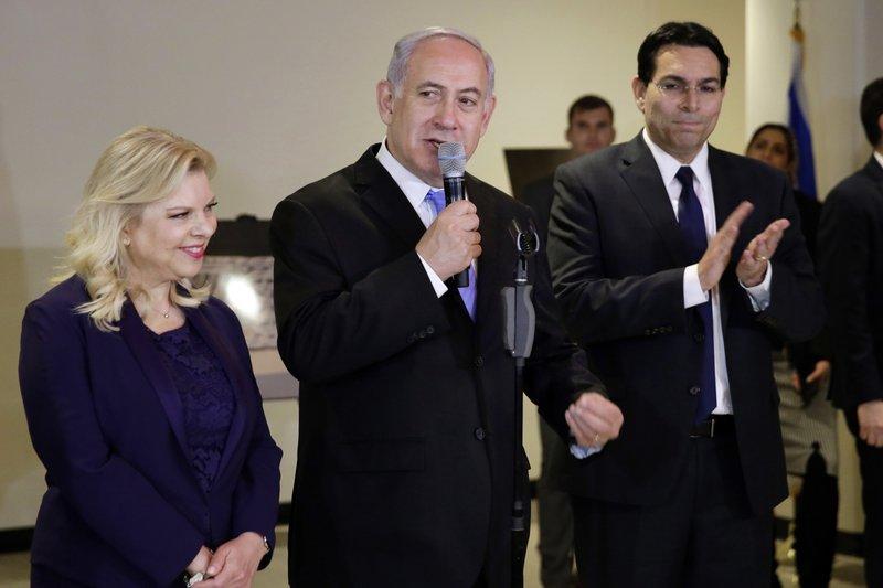 Benjamin Netanyahu, Sara Netanyahu, Danny Danon