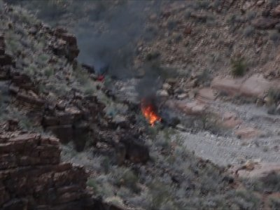 3 Dead, 4 Rescued in Grand Canyon Chopper Crash