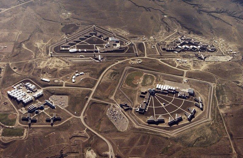 Federal Correctional Complex in Florence, Colorado. (Bureau of Prisons via The Gazette via AP, File)