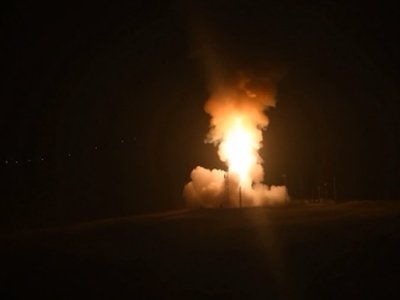 US Conducts Test Launch of Unarmed ICBM