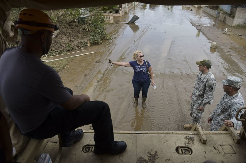 apnews.com - Damage in Puerto Rico strains relief efforts by agencies