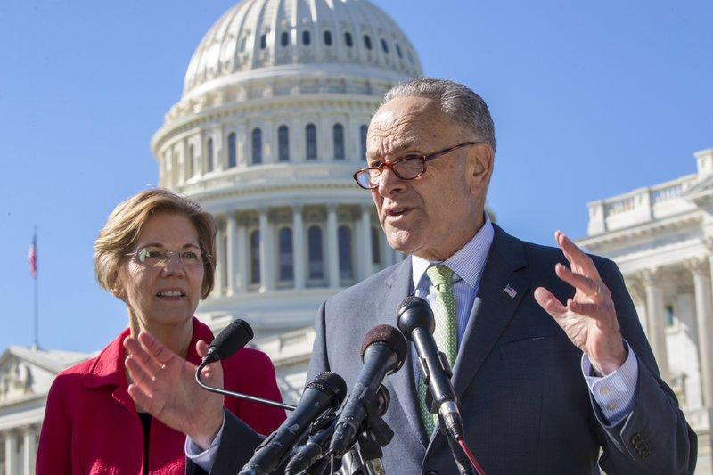 Chuck Schumer, Elizabeth Warren