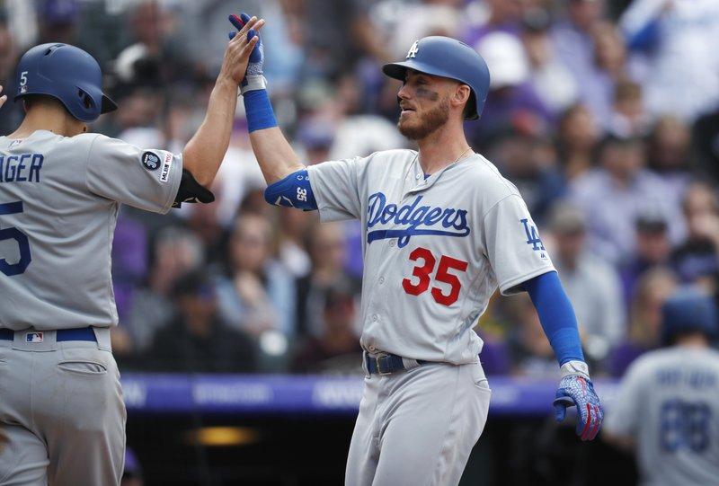 Los Angeles Dodgers jerseys Cody Bellinger 35 Walker Buehler 21 Clayton Kershaw