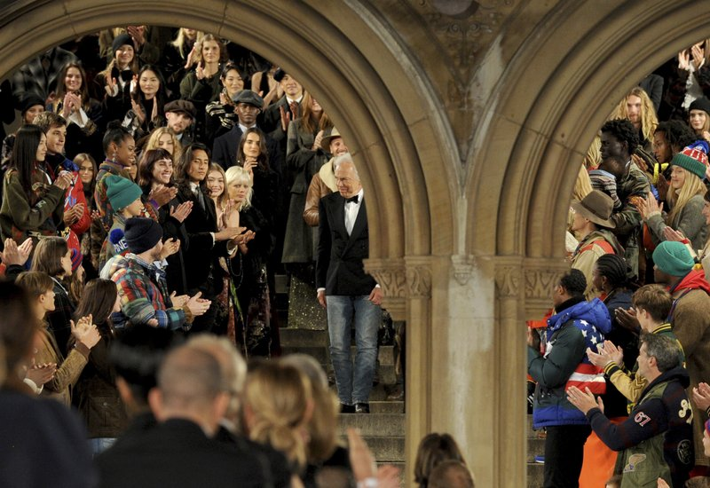 57cef4f1 Ralph Lauren marks 50th anniversary with Central Park bash