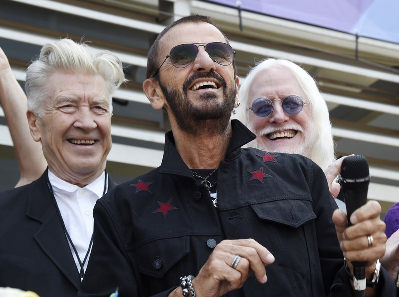 Ringo Starr, David Lynch, Edgar Winter
