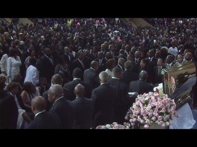 Franklin funeral a 'celebration of black culture'