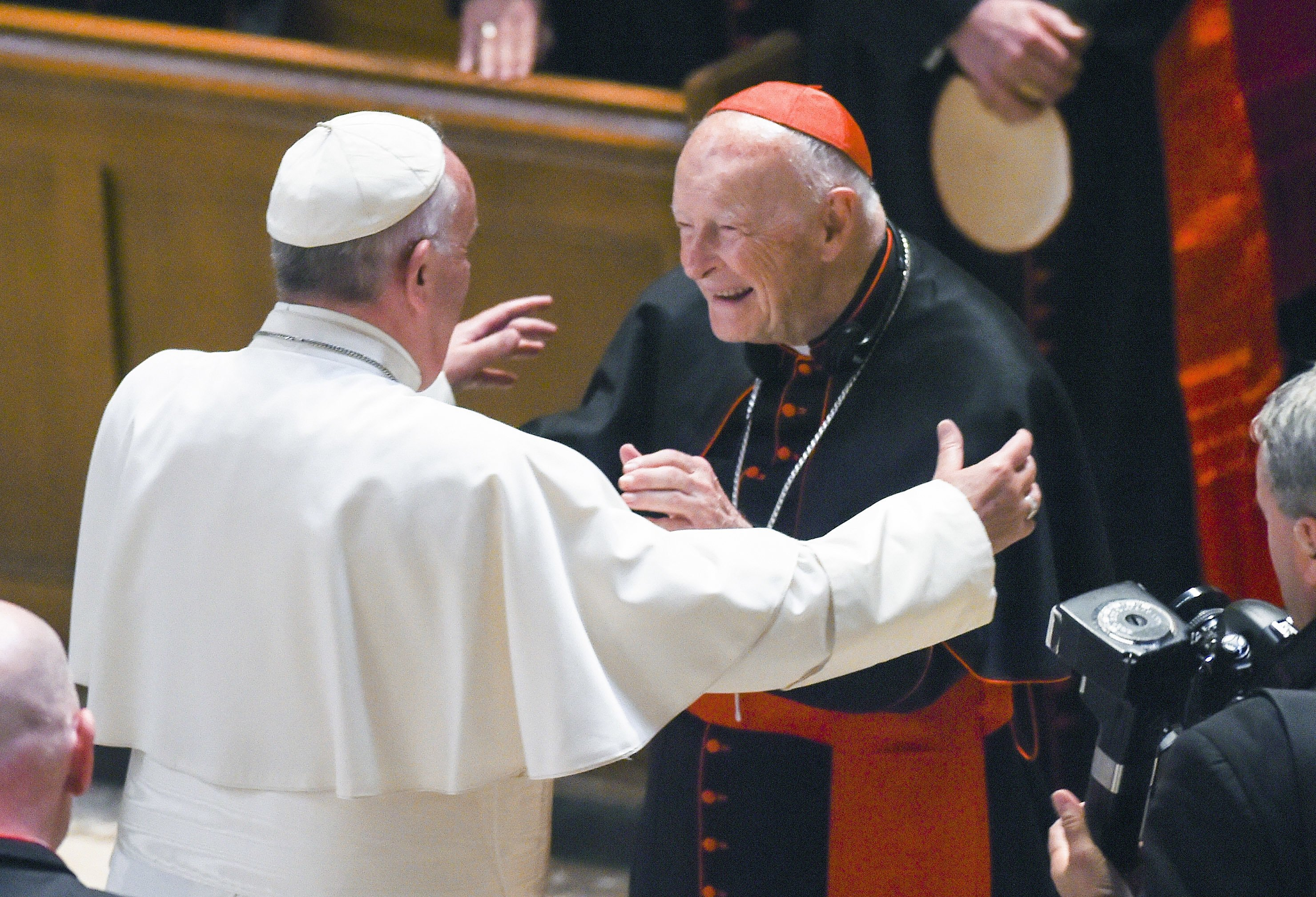 Revelations of US cardinal sex abuse will force pope's hand