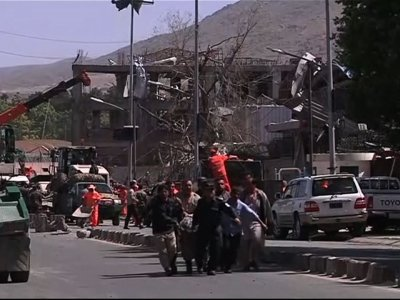 Raw: Huge Blast Kills, Injures Scores in Kabul