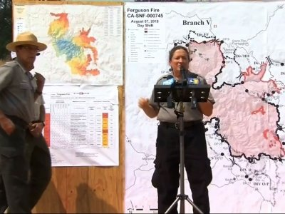 Fire Officials: Yosemite Nat'l Park Closed Indefinitely