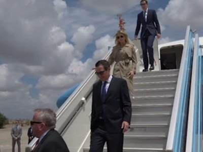 US Delegation in Israel for Embassy Opening
