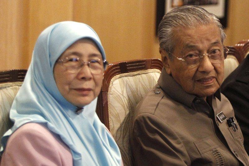 Mahatir Mohamad, Wan Azizah Wan Ismail