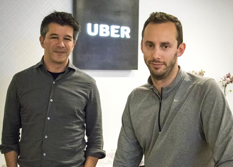 Travis Kalanick, Anthony Levandowski