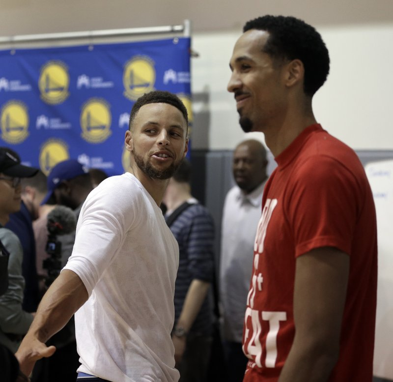 Stephen Curry, Shaun Livingston