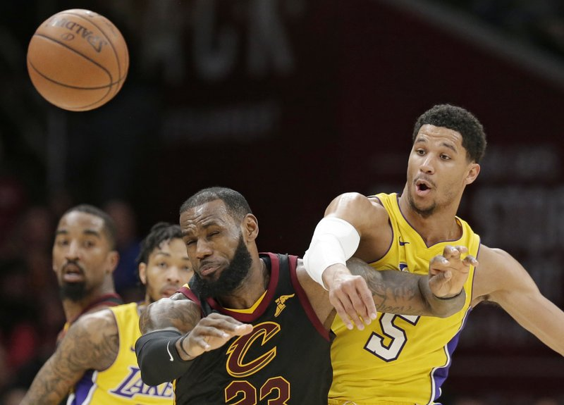 Josh Hart, LeBron James