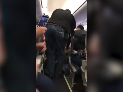 Passenger Dragged Off Flight Sparks Uproar