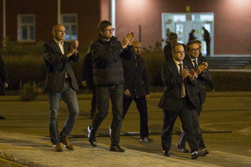 Raul Romeva, Carles Mundo, Jordi Turull, Josep Rull