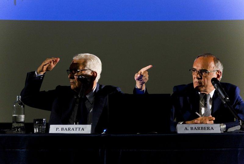 Paolo Baratta, Alberto Barbera