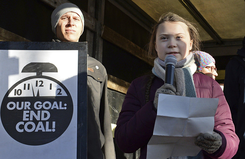 Greta Thunberg Update: The Latest: Catholic Pilgrims Bear Climate Change Warning