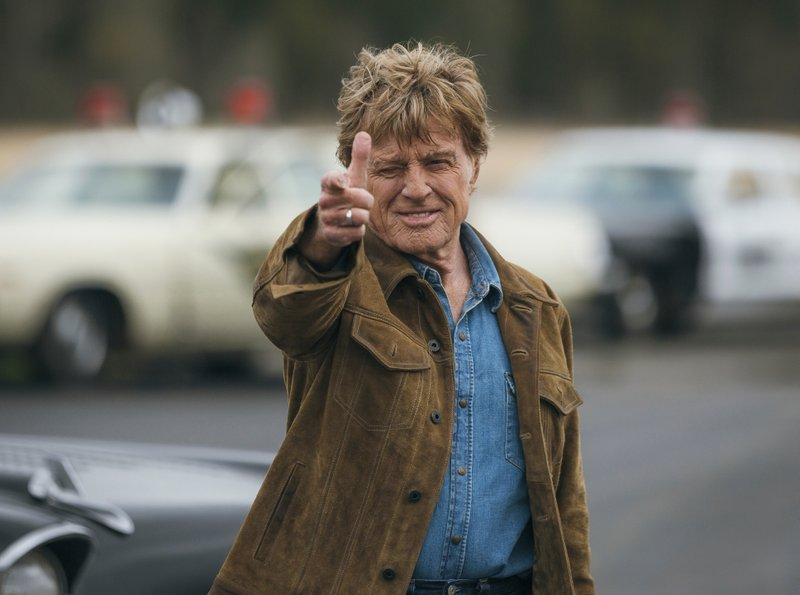 Review: Redford is wry, charming in his (maybe?) swan song