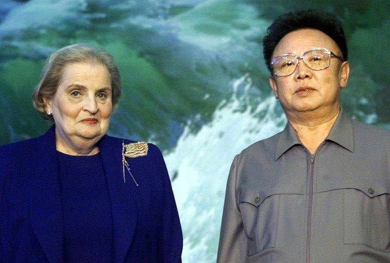 Kim Jong Il, Madeleine Albright