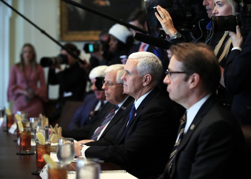 Mike Pence, Peter Roskam, Mike Enzi