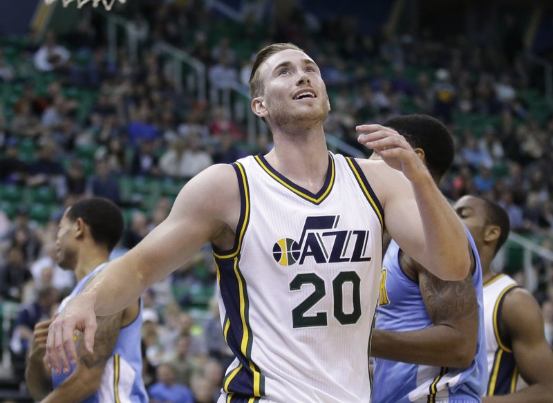 buy popular dadce fea78 Utah Jazz look to future without injured Gordon Hayward