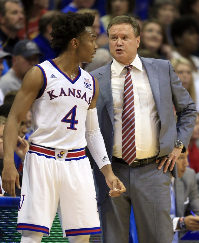 Bill Self, Devonte' Graham